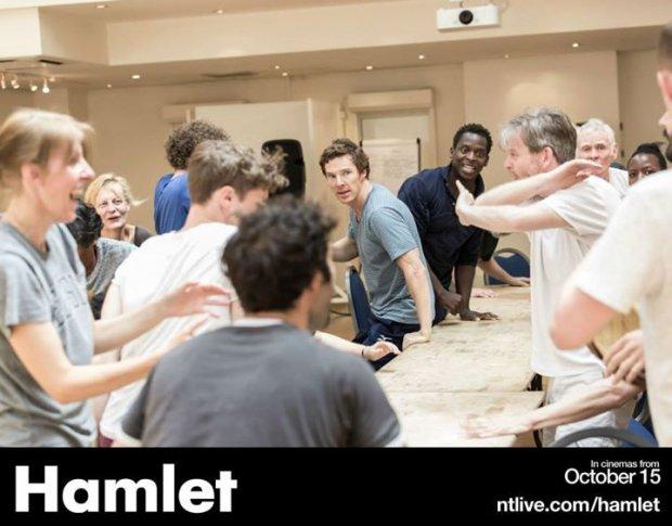 Hamlet rehearsal gallery