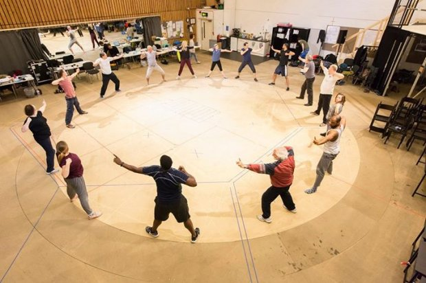 As You Like It rehearsal pictures