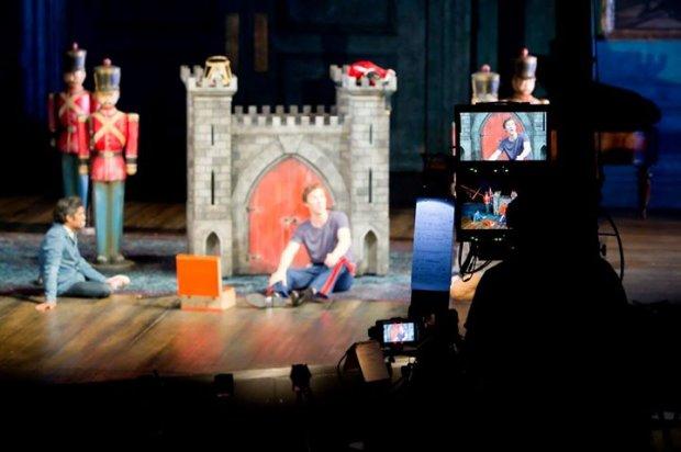 Hamlet - Camera Rehearsal Behind the Scenes photos