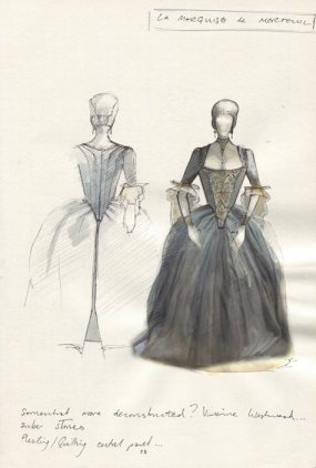 Les Liaisons Dangereuses - Set and Costume design photos