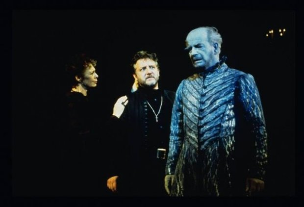 Hamlet at the National Theatre: 2000