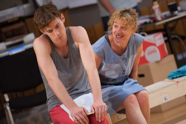Curious Incident of the Dog in the Night-Time Rehearsal Images