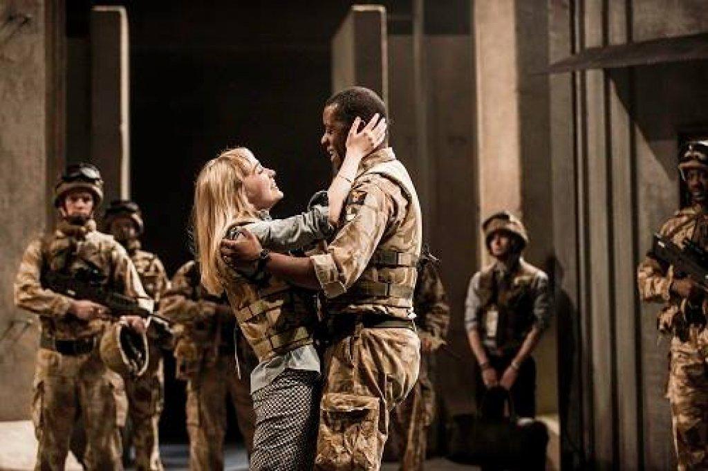 Othello And Desdemona Art Desdemona  Olivia Vinall  and